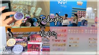 [Vlog]네일 박람회에서 100만원치 쇼핑했어요/우라…