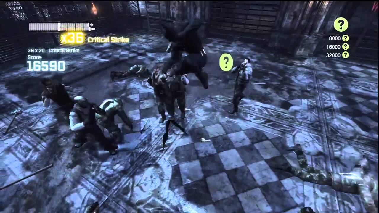 Batman: Arkham City-Batman Beyond Gameplay(Beyond Skin ...