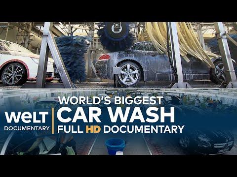 World's BIGGEST CAR WASH - Washing, Waxing, Drying | Full Documentary