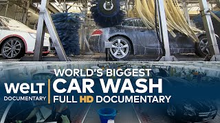 World's BIGGEST CAR WASH - Washing, Waxing, Drying | Full Documentary