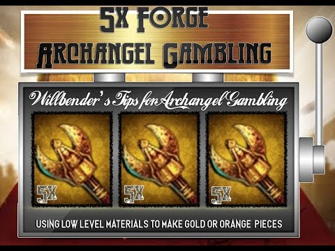 Gambling Guide - X5 Gold Arch Angel Pieces