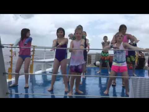 Post Snorkeling Fun in Cozumel