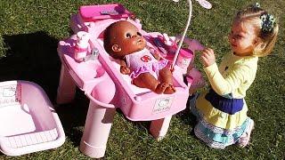✿ Hello Kitty 👧 ИГРАЕМ В КУКЛЫ baby doll toy Игры для Девочек Хелло Китти для Куклы Hello Kitty toy