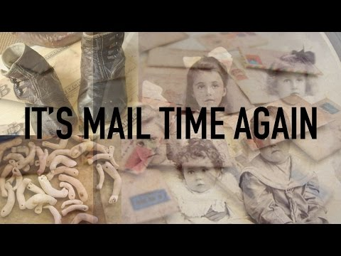 It's Mail Time Again Antique Old Victorian & Edwardian