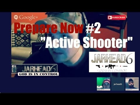 "Prepare Now #2 ""Active Shooter"""