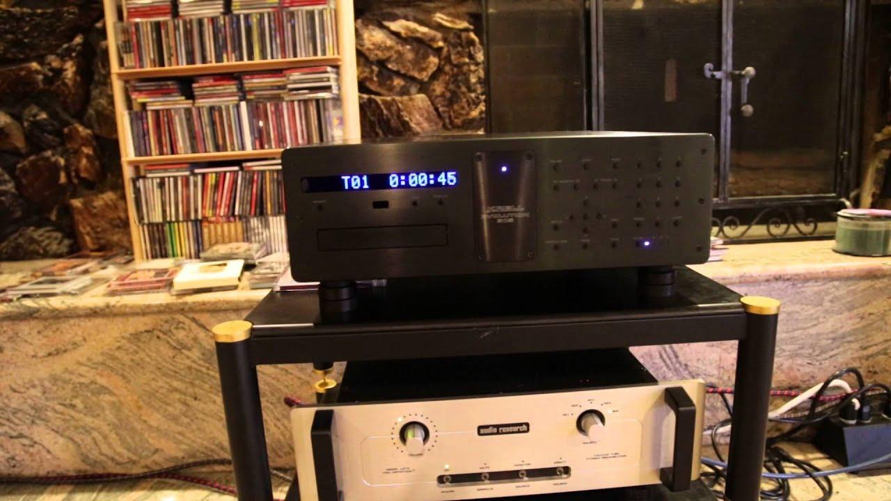 Krell Evolution505 CD/SACD player + Audio Research SL15(Preamp ) +  SD135(Amp ) + B&W 801s--2