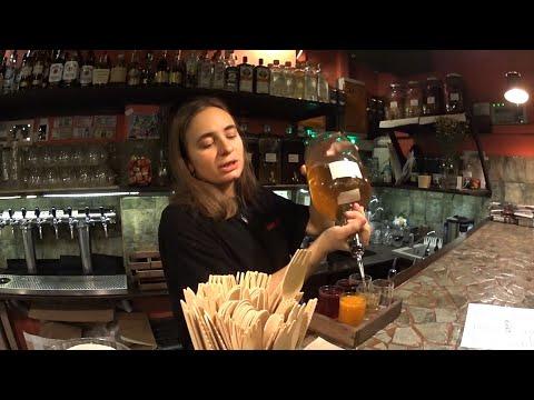 Атмосферный новогодний алкотрип: Парос, Дежурная рюмочная, кафе Барчук