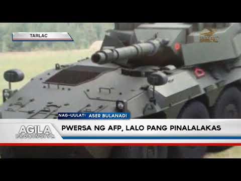 Pwersa ng AFP, lalo pang pinalalakas