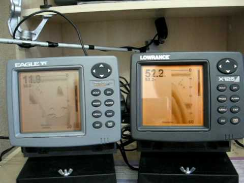 hqdefault lowrance x125 (x126) vs eagle fish mark 480 (sea finder 480) youtube lowrance x 125 wiring diagram at gsmx.co
