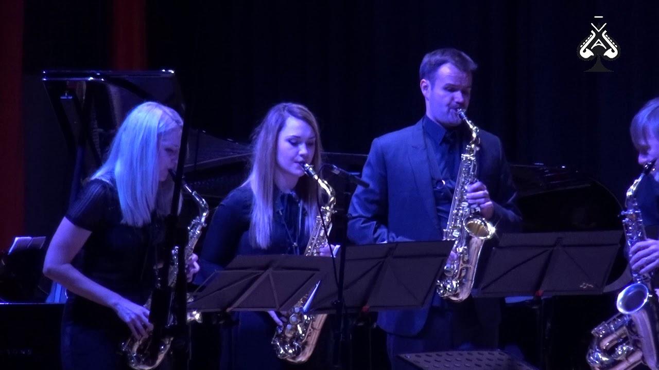Adolphesax.com - AS Festival - SOS Saxophone Orquestra - C. DEBUSSY Rhapsodie - Claude DELANGLE