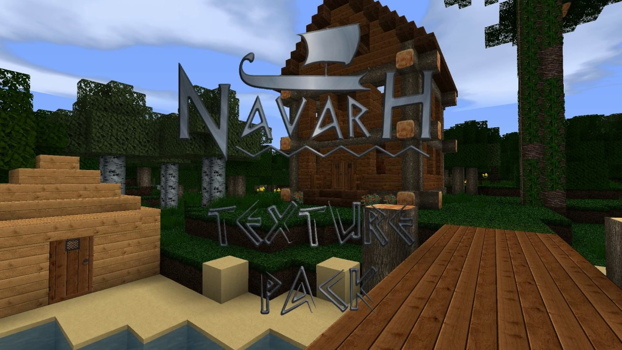 Minecraft Realistic Texture pack (Wood,Tree and more) - YouTube