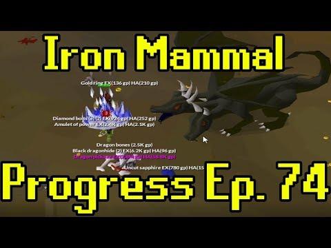 Oldschool Runescape - 2007 Iron Man Progress Ep. 74 | Iron Mammal