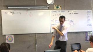 Equations with Fractions (2 of 3: Trickier Example)