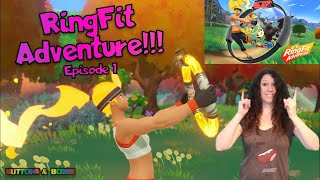 Ring Fit Adventure !!! Episode 1 - Unboxing & First Adventure Level Gameplay