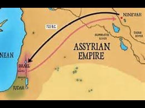 Why Were Only Ten Tribes Carried Away Into Assyrian Captivity?