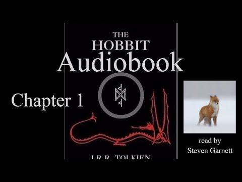The Hobbit Chapter 1 [full audiobook] ASMR relax sleep *