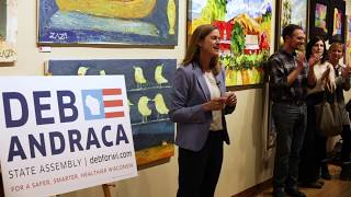 Deb Andraca's Campaign Kickoff event for Wisconsin State Assembly