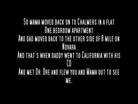 Eminem  Mockingbird Acapella With Lyrics