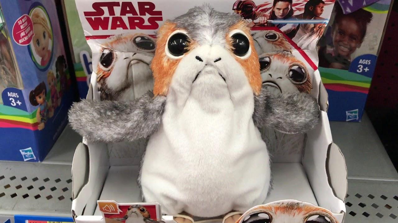 Star Wars The Last Jedi Porg Youtube