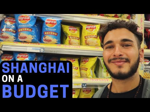 SHANGHAI IS SO CHEAP! 🇨🇳 - (going inside supermarket)