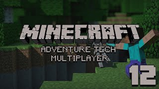 Zagrajmy na Adventure Tech Multiplayer - #12 - Jajowa szklarnia . [MINECRAFT]