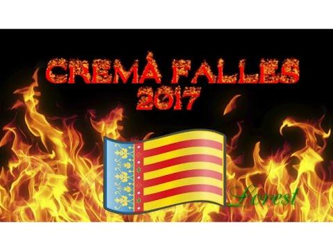 [Especial] Cremà de les Falles 2017 | VALENCIA | Barrio - Benicalap