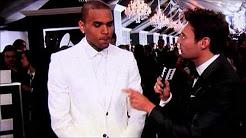 Chris Brown Interview On Grammy Award Preshow 2013