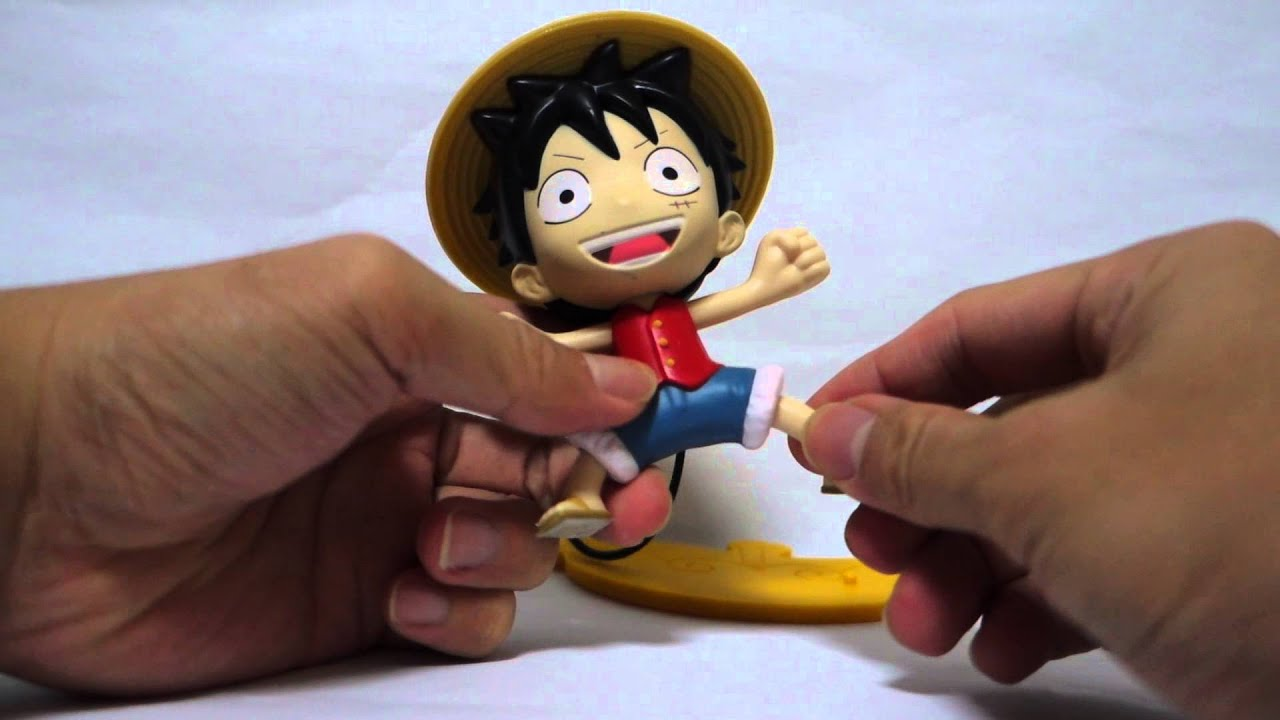 Mcdonald S One Piece Happy Meal Monkey D Luffy