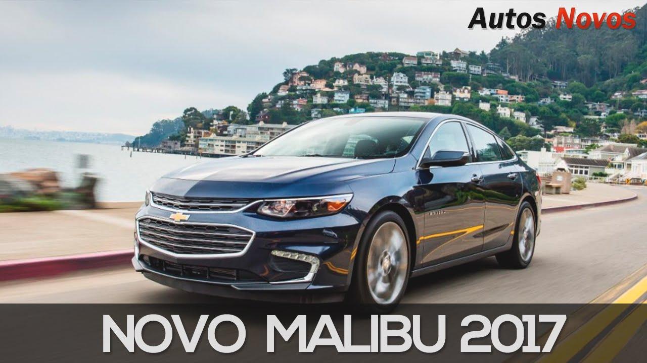 Novo Chevrolet Malibu 2017 YouTube
