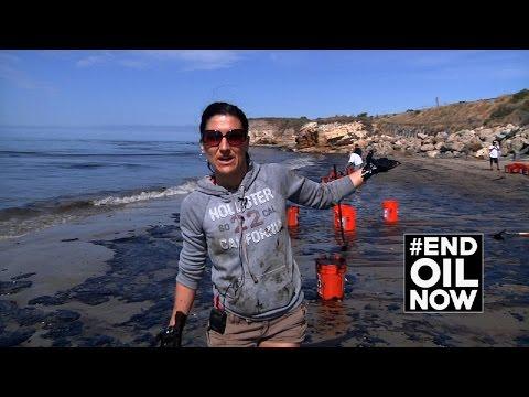 Refugio Beach Oil Spill