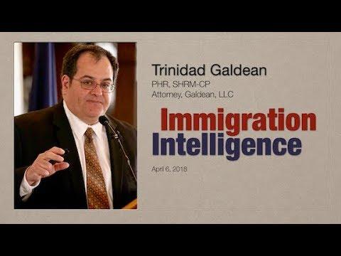 Trinidad Galdean on Immigration Intelligence