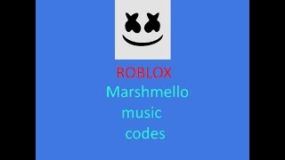 Marshmello 5 códigos musicais (códigos Roblox)