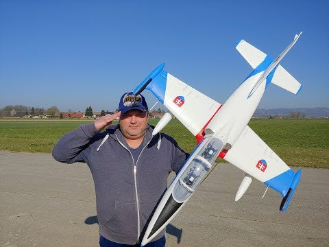 Freewing L-39 Albatros 80mm EDF Jet - PNP Maiden Flight
