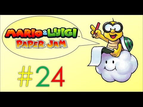 "Mario and Luigi Paper Jam Part24 ""How to Deal with The Forest Glutton Creature"""