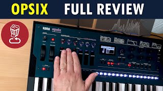 Korg OPSIX Review, tutorial and 10 patch ideas // 250 presets played // FM synthesis explained