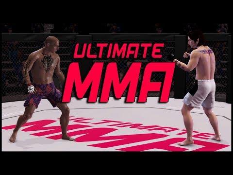 Ultimate MMA - ЛУЧШИЕ БОЙЦЫ С КОНЧЕННЫМ УПРАВЛЕНИЕМ