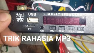 Cara menghilangkan mode radio fm pada kit mp3
