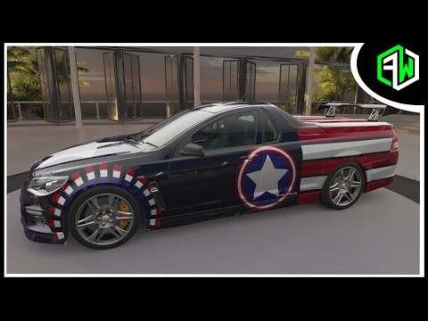 captain america hsv limited edition gen f gts maloo. Black Bedroom Furniture Sets. Home Design Ideas