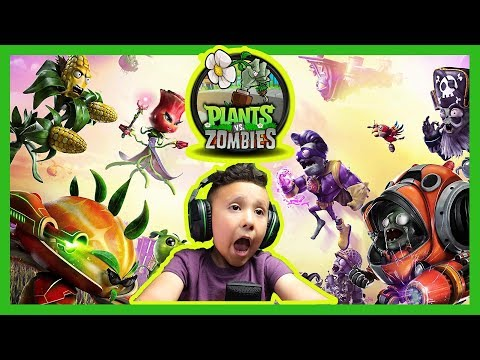 PLANTS VS ZOMBIES GARDEN WARFARE 2 - Lets Play With Jelly Bean 106 Gaming Channel