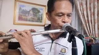 Berdiri seorang perindu flute cover