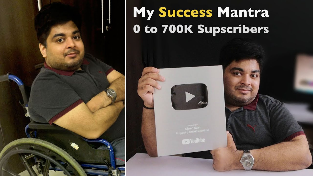 My Journey Continues...And My Success Mantra | Gizmo Gyan