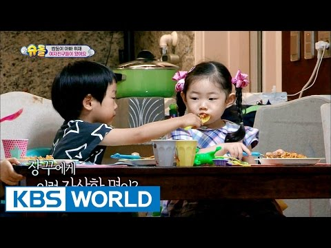 Twins' House - Girlfriends' visit [The Return of Superman | 2016.07.24]