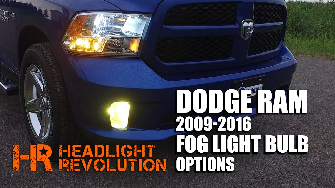 How To Install Hid Or Led Bulbs In Your 09 16 Dodge Ram Fog Lights Drl 9005 9006 Relay Wiring Harness For Conversion Kit Addon Youtube