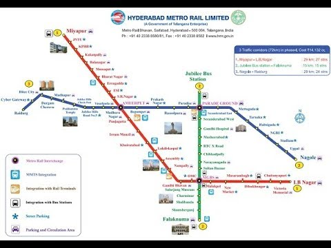 FULL DETAILS ABOUT HYDERABAD METRO RAIL