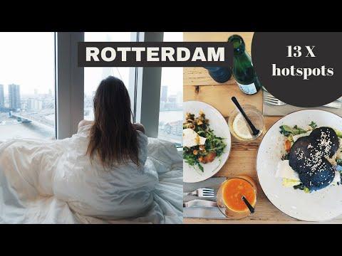 13 X de leukste hotspots in Rotterdam voor een city trip // Staycation