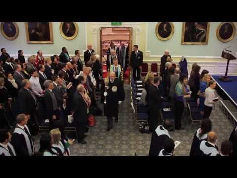 Diploma ceremonies at the RCSEd