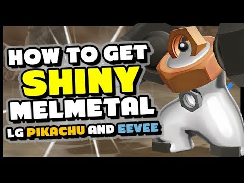 How To Get SHINY Meltan and Melmetal in Pokemon Lets Go Pikachu and Eevee! thumbnail