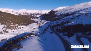 Grandvalira Grau Roig Andorra 26-02-2018 vista dron