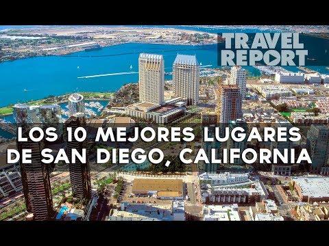 Lugares turísticos de San Diego, California EUA