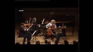 Argerich plays SCHUMANN: Piano Quintet op. 44, E flat Major thumbnail